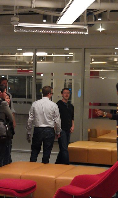 Mark Zuckerberg visits Harvard Business School's #Startuptribe
