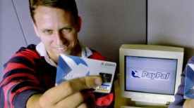 Peter Thiel back in the days of PayPal